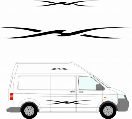 (No.149) MOTORHOME GRAPHICS STICKERS DECALS CAMPER VAN CARAVAN UNIVERSAL FITTING